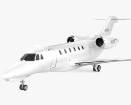 3D model of Cessna 750 Citation X