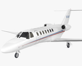 3D model of Cessna Citation CJ3