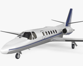 3D model of Cessna Citation II