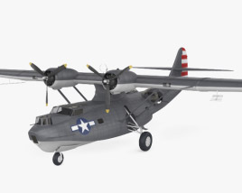 3D model of Consolidated PBY Catalina