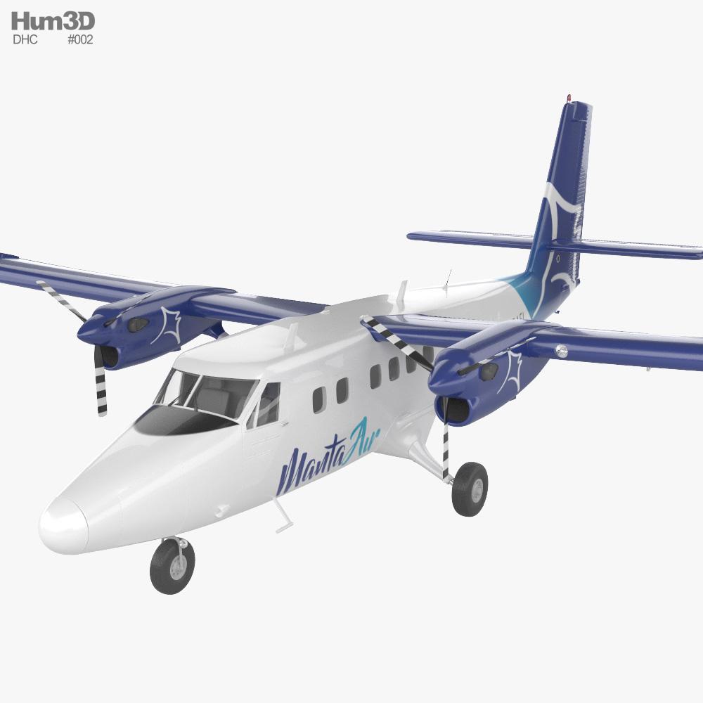 De Havilland Canada DHC-6-300 Twin Otter 3D model