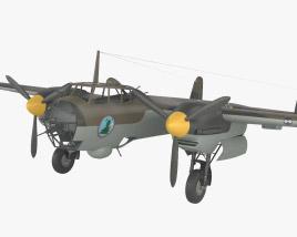 Dornier Do 17 Modèle 3D