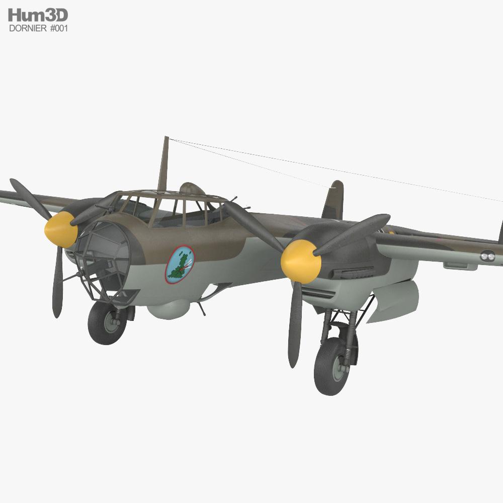 Dornier Do 17 3D model