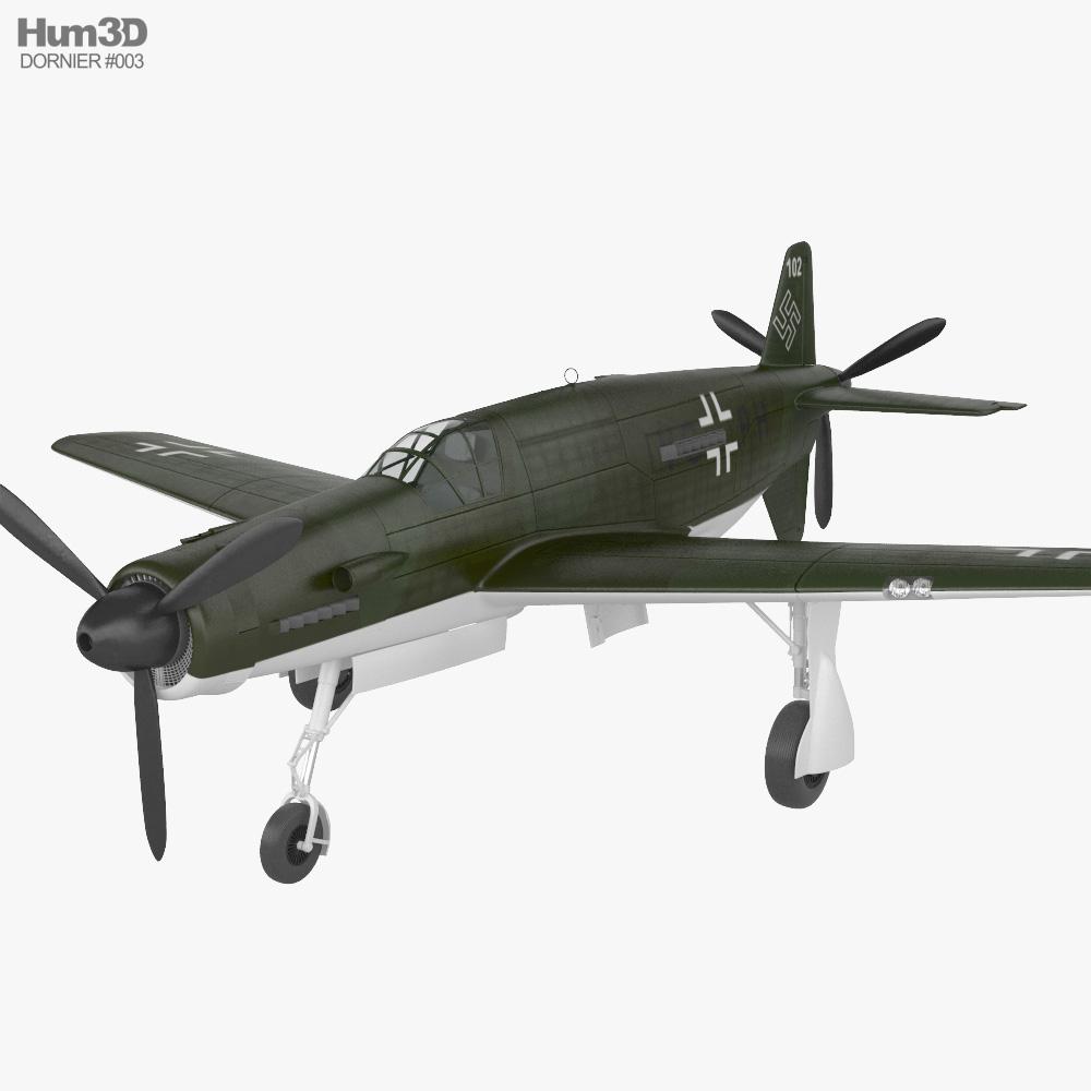 Dornier Do 335 Pfeil 3D model