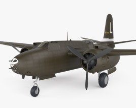 3D model of Douglas A-20 Havoc