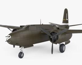 Douglas A-20 Havoc 3D model