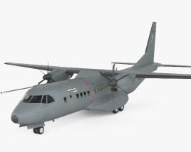 3D model of EADS CASA C-295
