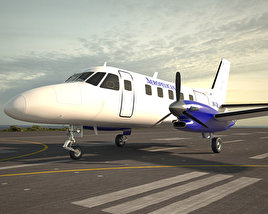 3D model of Embraer EMB 110