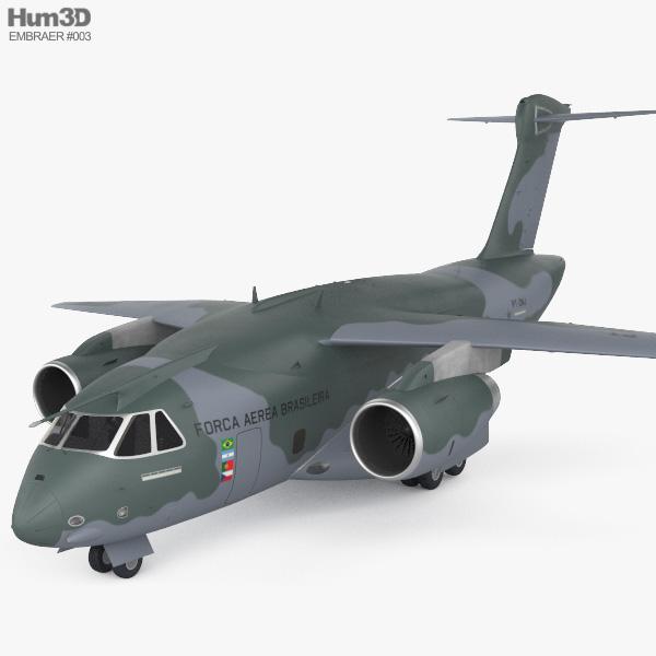 Embraer KC-390 3D model