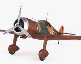 Fokker D.XXI 3D model