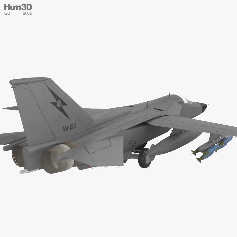 General Dynamics F-111 Aardvark 3d model
