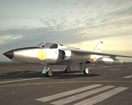 3D model of HAL Ajeet