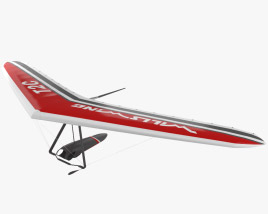 3D model of Hang glider Wills Wing T2C