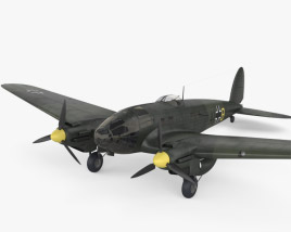 3D model of Heinkel He 111