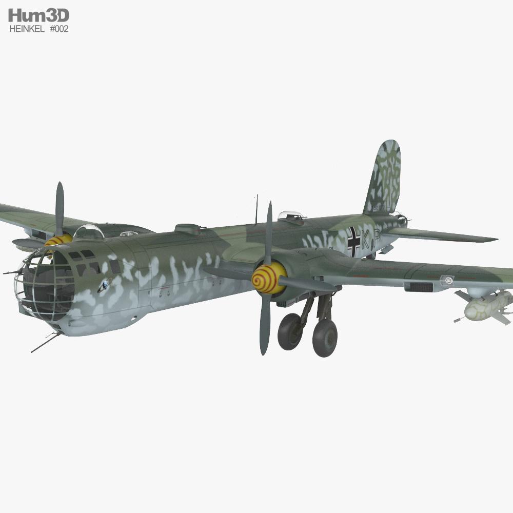 Heinkel He 177 Greif 3D model