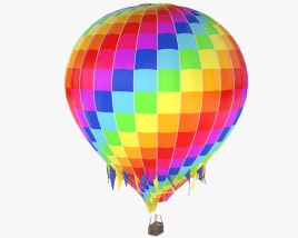 3D model of Hot Air Balloon