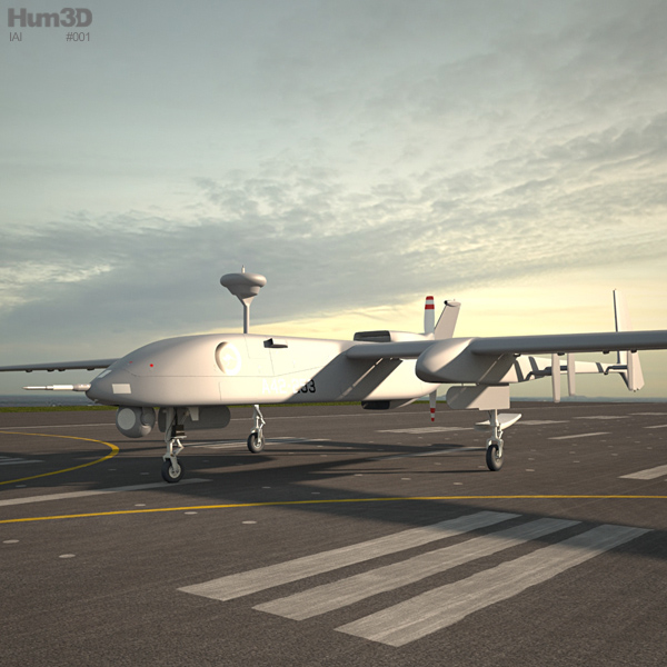 3D model of IAI Heron