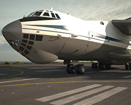 3D model of Ilyushin Il 76