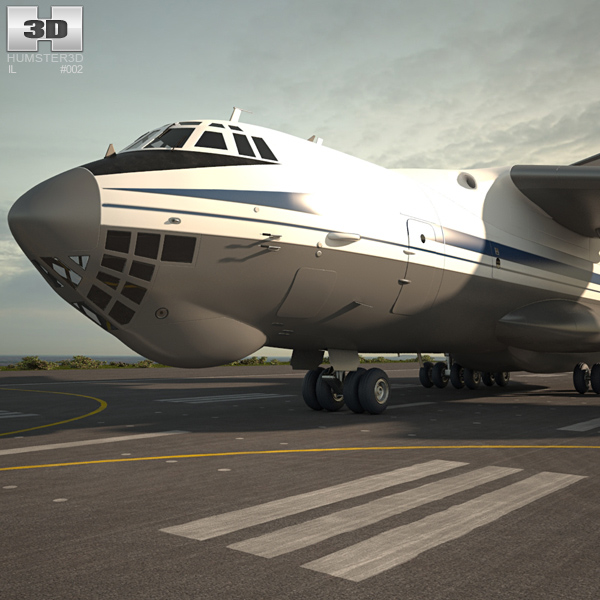Ilyushin Il 76 3D model
