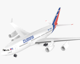 3D model of Ilyushin Il-96