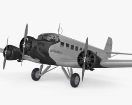 3D model of Junkers Ju 52