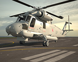 3D model of Kaman SH-2G Super Seasprite