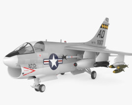 3D model of LTV A-7 Corsair II