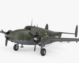 3D model of Lockheed Model 18 Lodestar