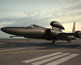 3D model of Lockheed U-2S