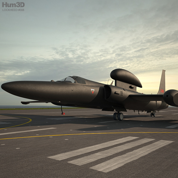 3D model of Lockheed U-2S