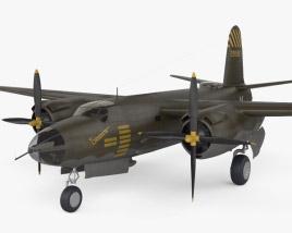 3D model of Martin B-26 Marauder