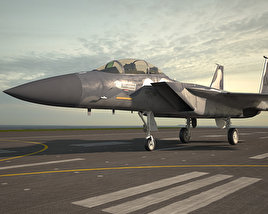 3D model of McDonnell Douglas F-15 Eagle