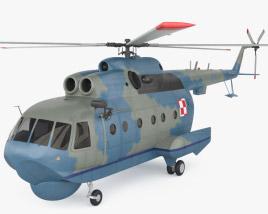 3D model of Mil Mi-14
