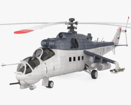 3D model of Mil Mi-35