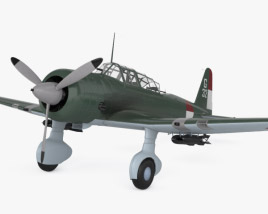 3D model of Mitsubishi Ki-51