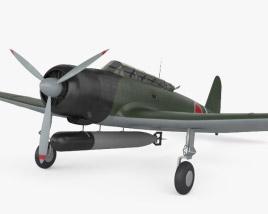 3D model of Nakajima B5N