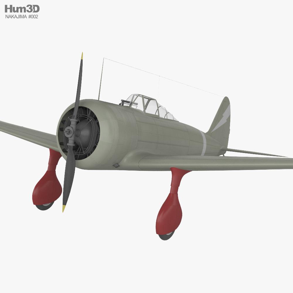 Nakajima Ki-27 3D model