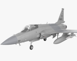 3D model of PAC JF-17 Thunder