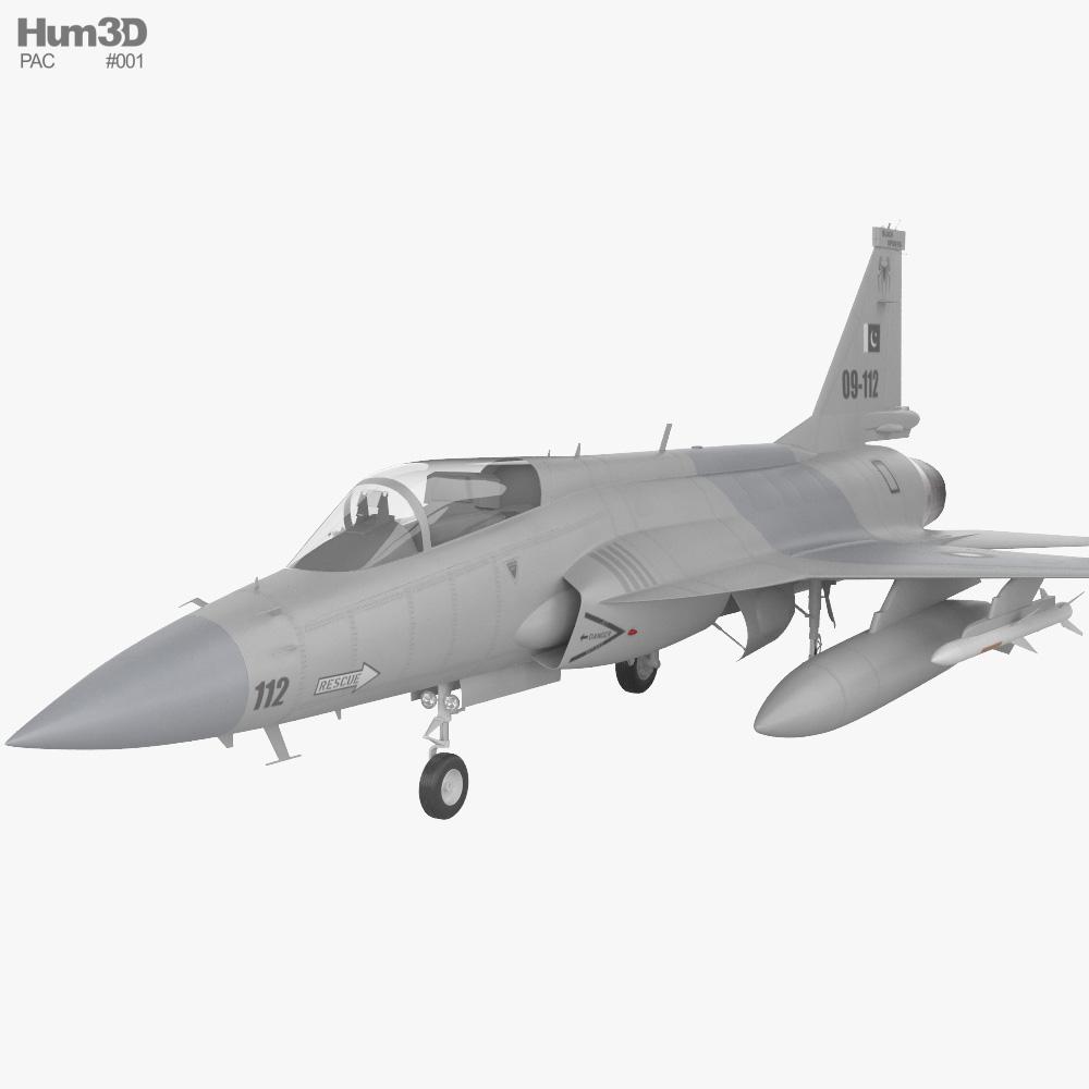 PAC JF-17 Thunder 3d model