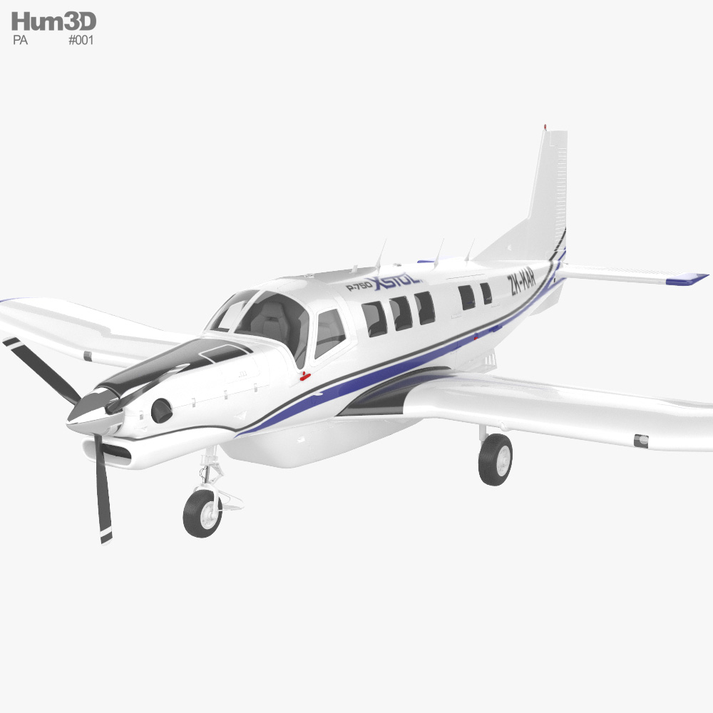 Pacific Aerospace P-750 XSTOL 3D model
