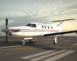 3D model of Pilatus PC-12