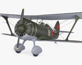 3D model of Polikarpov I-15
