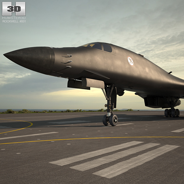 Rockwell B-1 Lancer 3D model