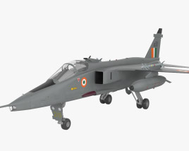 3D model of SEPECAT Jaguar