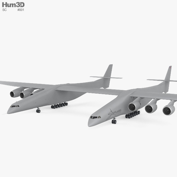 Scaled Composites Stratolaunch Model 351 3D model