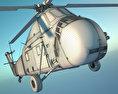 Sikorsky H-34 3d model