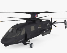 3D model of Sikorsky S-97 Raider