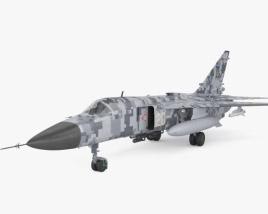 3D model of Sukhoi Su-24
