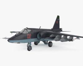 3D model of Sukhoi Su-25