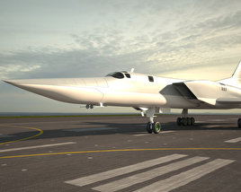 3D model of Tupolev Tu-22M